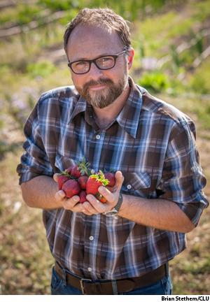 "All food has ""background,"" says Sam Thomas, a professor at California Lutheran University, Thousand Oaks."