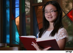 "Whenever Mei Le Smith, 10, a choir member at Queen Anne Lutheran Church, Seattle, hears ""On Eagle's Wings"" (Evangelical Lutheran Worship, 787), she thinks of her grandpa. It was his funeral hymn and is her go-to choice whenever she's asked to pick a song."