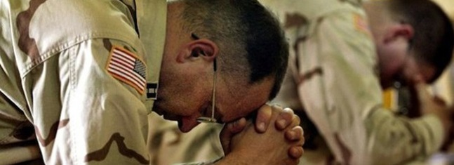 The spiritual counsel of military chaplains is critical; because they are close to the troops, they can build relationships that make it easier to talk about and work with concerns like suicide.