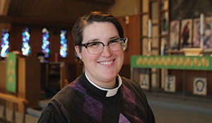 Meghan Rohrer, pastor of Grace Lutheran Church, San Francisco, is believed to be the first openly transgender pastor on the ELCA roster.