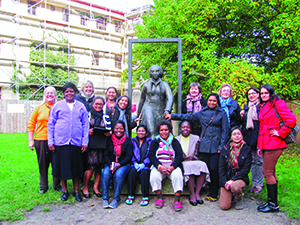 "The ELCA's International Women Leaders seminars, titled ""Women at the Crossroads of the Reformation,"" were funded by gifts to Always Being Made New: The Campaign for The ELCA. Forty-six women from the ELCA's companion churches have participated."
