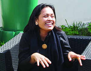 Julinda Sipayung is a pastor from Indonesia who attended the ELCA's International Women Leaders seminars.