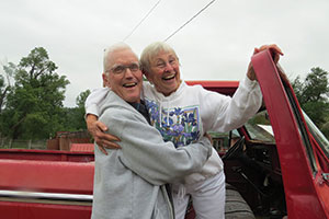 Don and Diane Heyden, longtime members of Hope Lutheran Church in Bozeman, Mont., regularly invite students from nearby Montana State University to their home.
