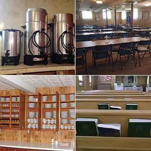 CAROLYN JACKSON Eidskog gave 350 plates, 450 cups, coffee pots and silverware to Hope.