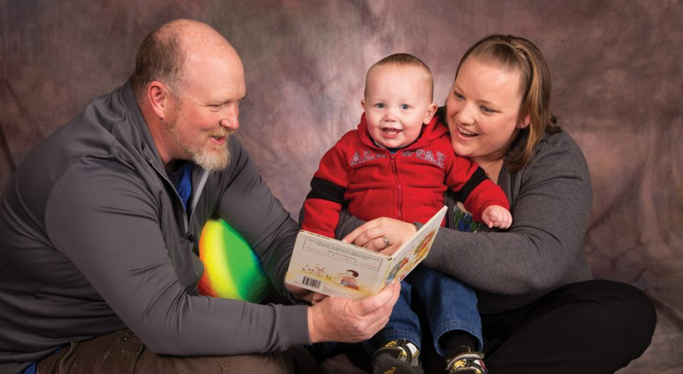 Dale and Tori Saunders struggled for years to get pregnant before the birth of their son, Gunnar (19 months). They credit their faith for helping them through an emotional time that tested their strength and marriage.