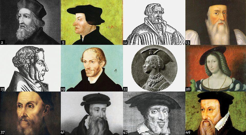8ba8aff02a53 Reformation 500  50 Reformation figures - Living Lutheran