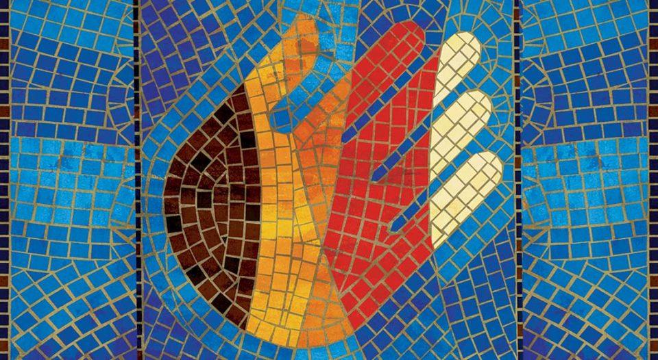 ELCA diversity mosaic hand