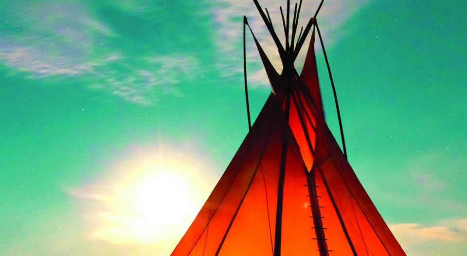 Lakota tepee