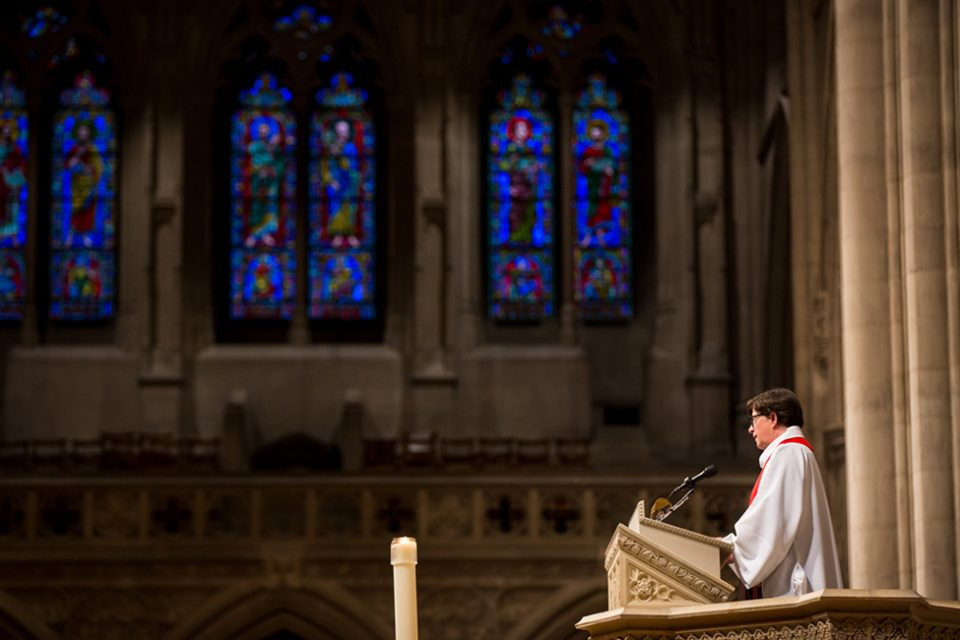 Bishop Eaton preaches at Washington National Cathedral