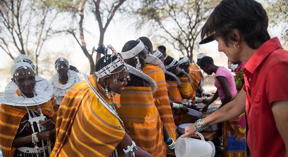 Ketumbeine, Tanzania - Steve and Bethany Friberg work as missionaries with Maasi in rural northern Tanzania.