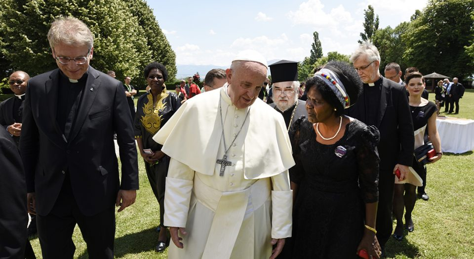 Pope Francis WCC visit