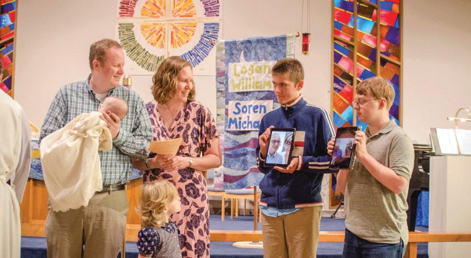 Virtual baptism witnesses