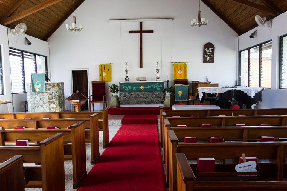Empy Lutheran sanctuary