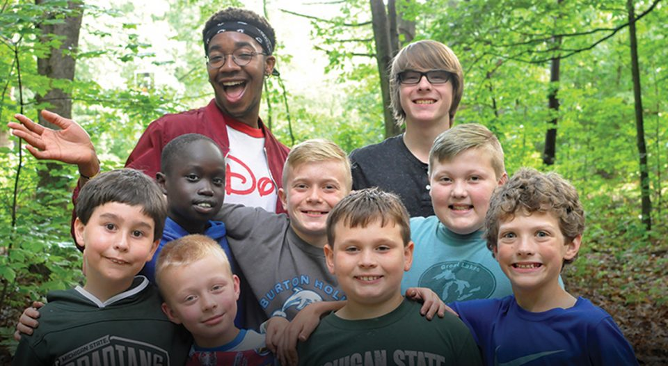 Young Lutheran campers