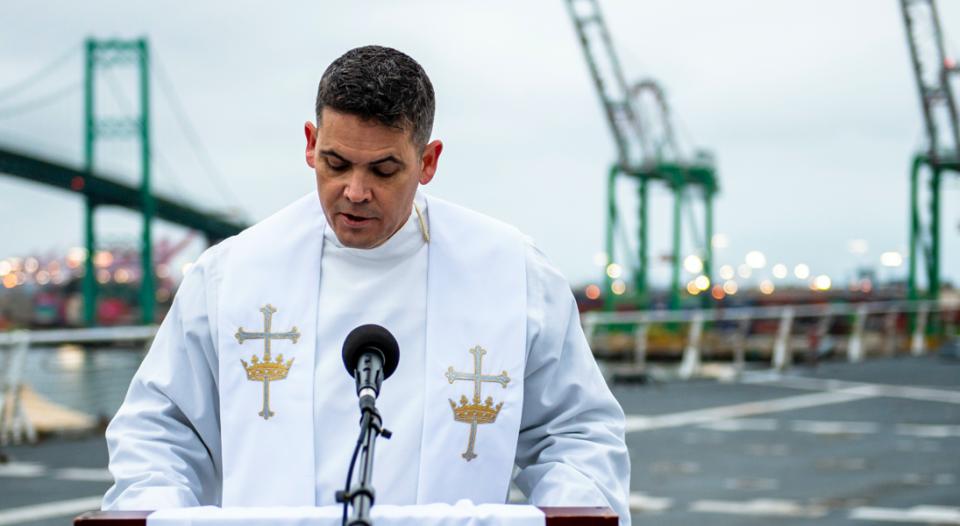 ELCA Chaplain Glenn Orris