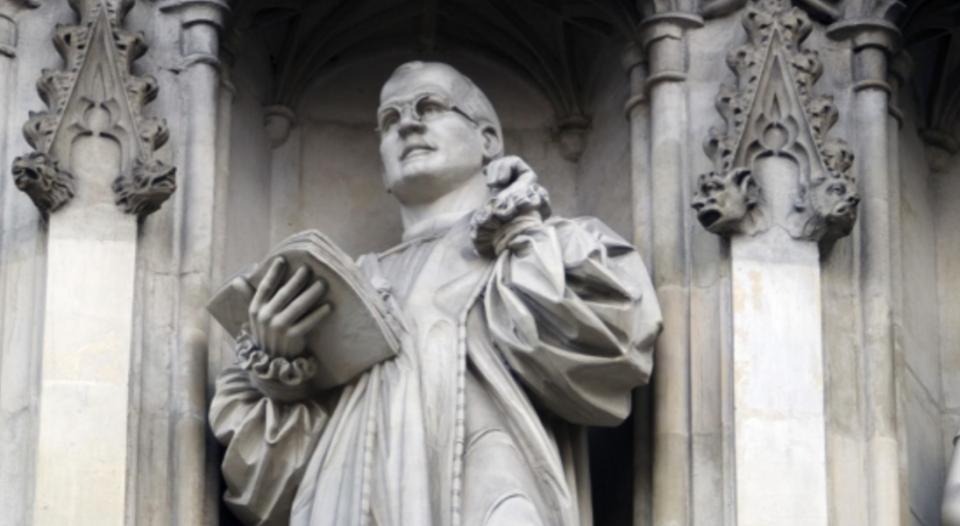 Dietrich Bonhoeffer statue