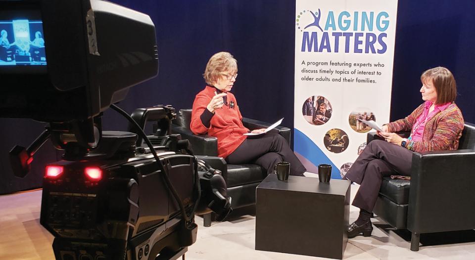 Cheryl Beversdorf Sonja Schaible Aging Matters