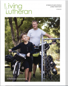 Living Lutheran Oct. 2021 cover